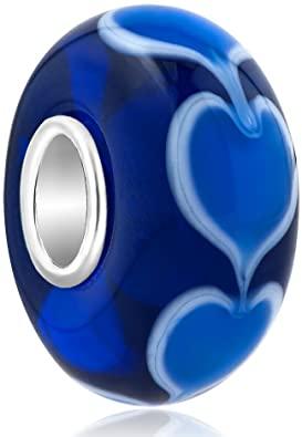 Pandora Blue Heart Charm