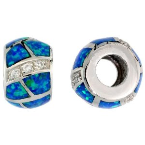 Pandora Blue Lab Opal Charm