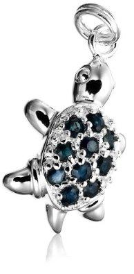 Pandora Blue Sapphire Turtle Charm