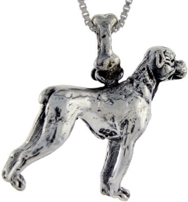 Pandora Boxer Dog Pendant Charm