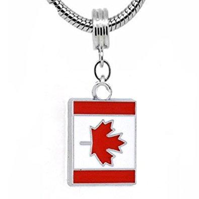Pandora Canadian Flag Charm