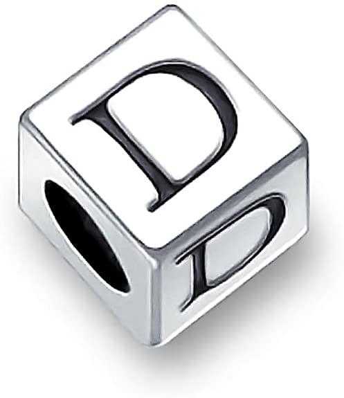 Pandora Capital Letter D Dice Charm