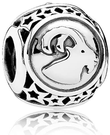 Pandora Capricorn Zodiac Star Charm