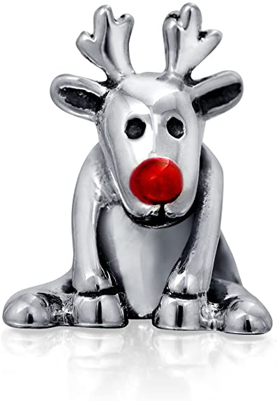 Pandora Charms Weihnachten.Pandora Cartoon Deer Red Nose Charm Buy Top Rated Charms