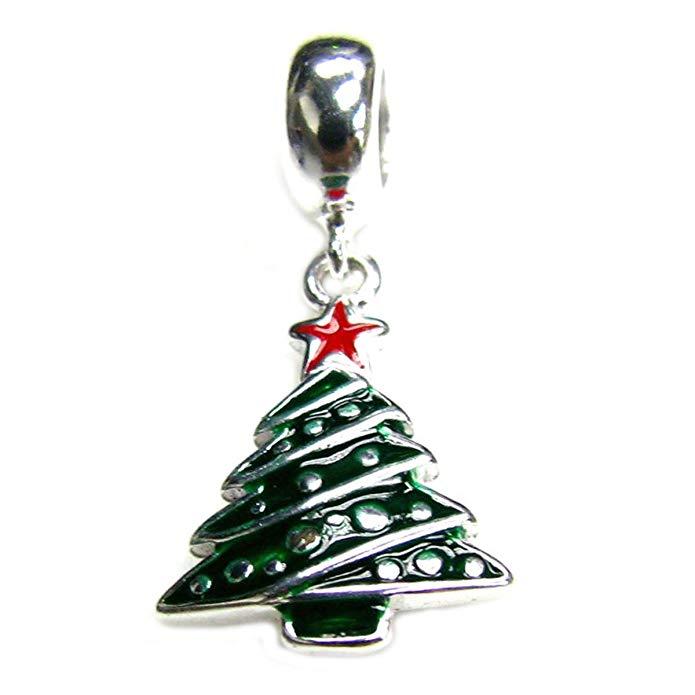 Pandora Christmas Tree with CZ Stones