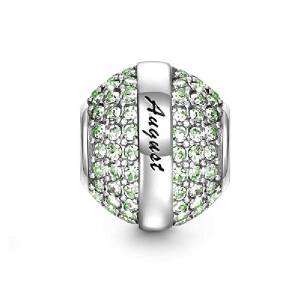 Pandora Circle August Birthstone Charm