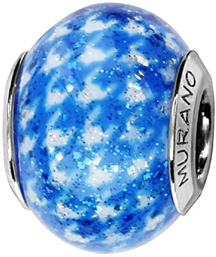 Pandora Clouds in The Sky Glass Charm