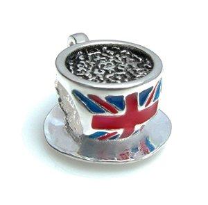 Pandora Coffee Cup With Dish Bead