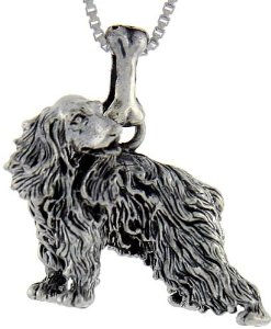 Pandora Crocker Spaniel Dog Charm