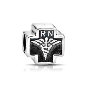 Pandora Cross With RN Sign Charm