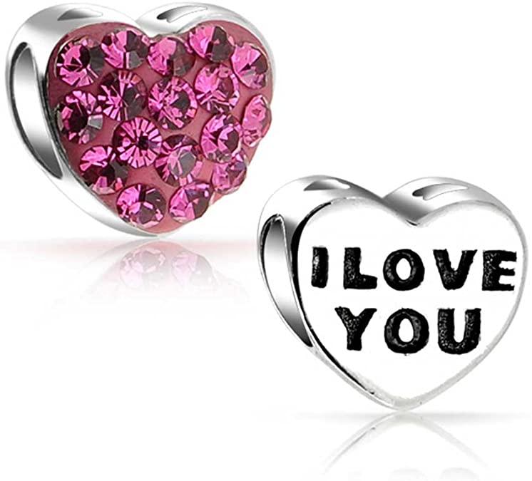 Pandora Crystal Valentine Charm