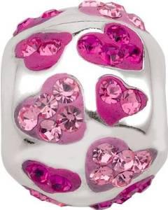 Pandora Cupids Crystal Shower Pink Charm