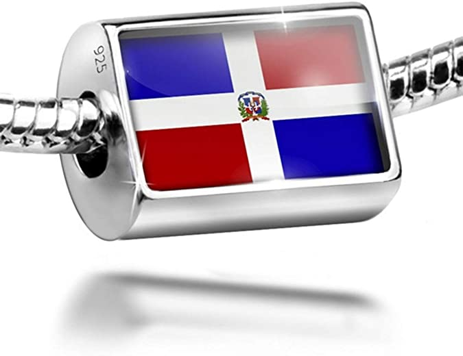 Pandora Cute Dominican Republic Flag Charm