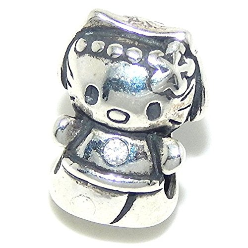 Pandora Cute Face Kitty Cat Charm