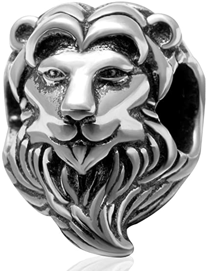 Pandora Cute Lion Lampwork Charm