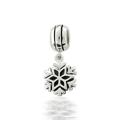 Pandora Cute Snowflake Holidays Bead