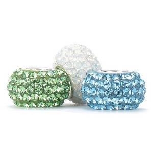 Pandora Dark Aqua Swarovski Crystal Charm
