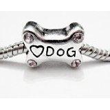 Pandora Dog Bone Spacer Charm