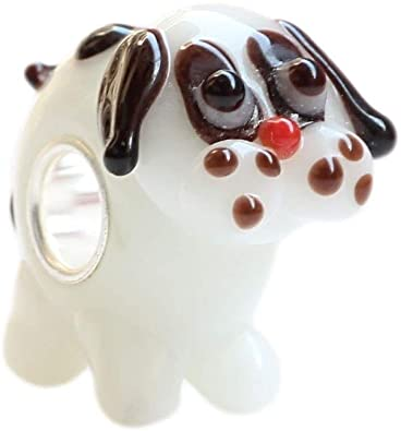 Pandora Dog Glass Charm