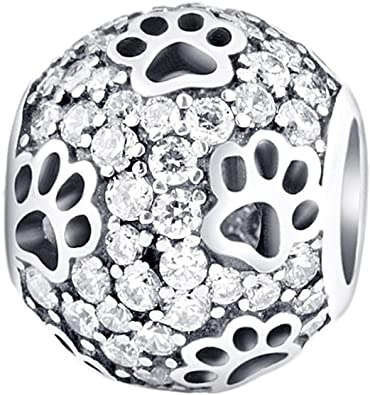 Pandora Dog and Cat Hugging Love Charm
