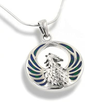 Pandora Dragon and Phoenix Medallion Pendant Charm