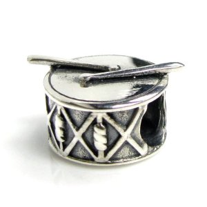 Pandora Drum With Sticks Charm