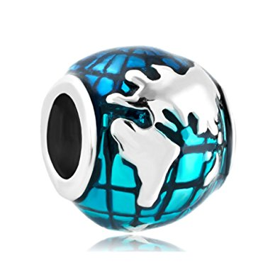 Pandora Earth Globe Charm