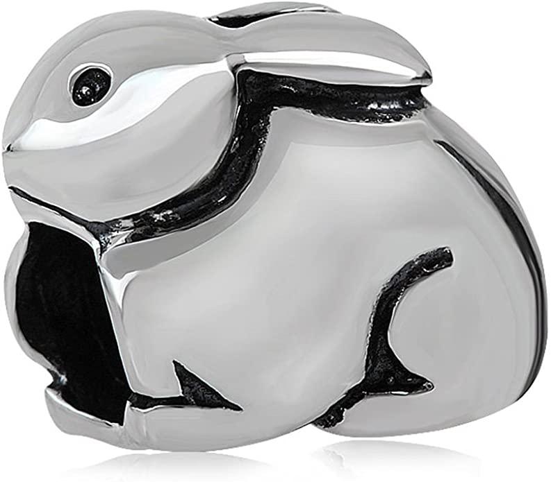 Pandora Easter Bunny Charm