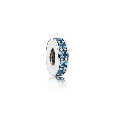 Pandora Eternity Sky Blue Crystals Charm