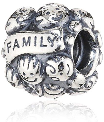 Pandora Family Bonds Enamel Charm