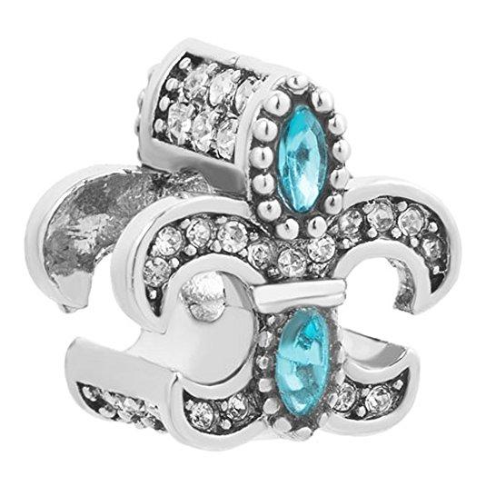 Pandora Fleur De Lis Bead Charm
