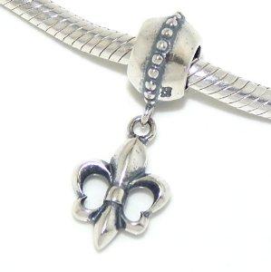 Pandora Fleur de Lis Charm