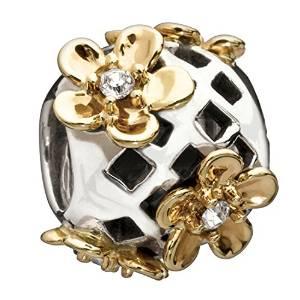 Pandora Flower 14K Gold Charm