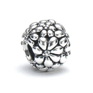 Pandora Flower and Leaves Bead