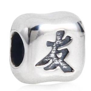 Pandora Friend Chinese Word Cubic Charm