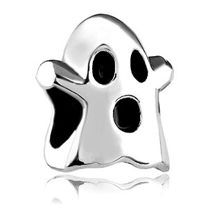 Pandora Frightened Ghost Face Charm
