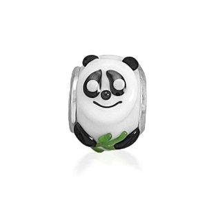 Pandora Giant Panda Murano Glass Charm