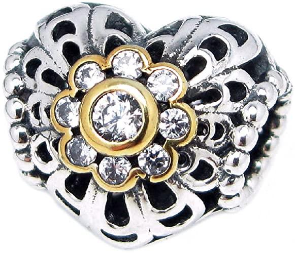 Pandora Gold Flower Charm