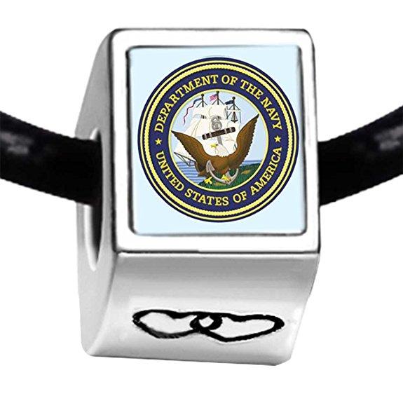 pandora gold plated character navy seal november