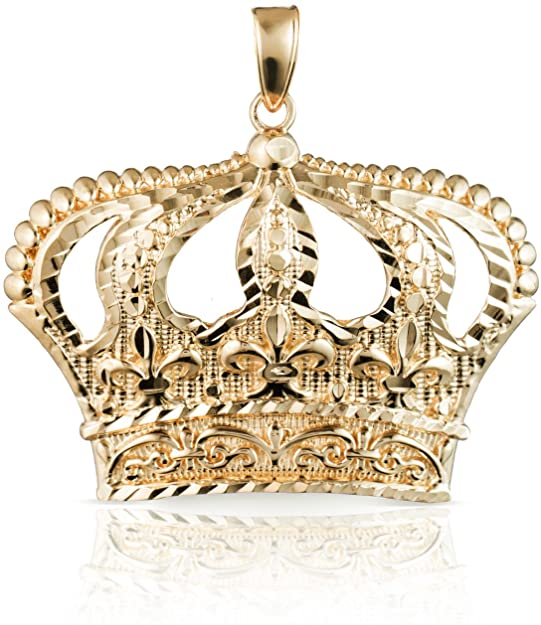 Pandora Golden Diamond Crown Charm