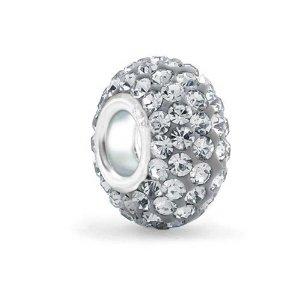 Pandora Grey Swarovski Crystal Charm