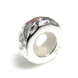 Pandora Hammered Bead Charm
