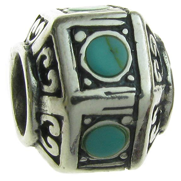 Pandora Hawaii Ocean Turquoise Glass Charm