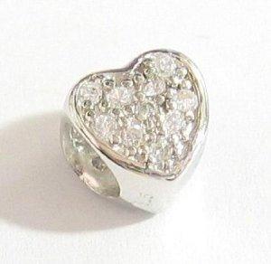 Pandora Heart CZ November Birthstone Charm