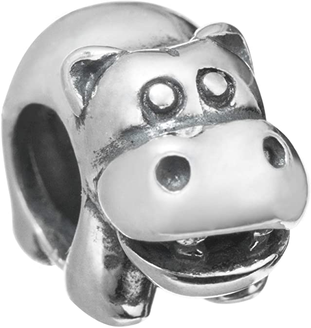 Pandora Hippo Charm