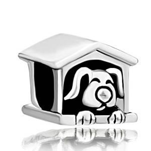 Pandora House Dog Charm