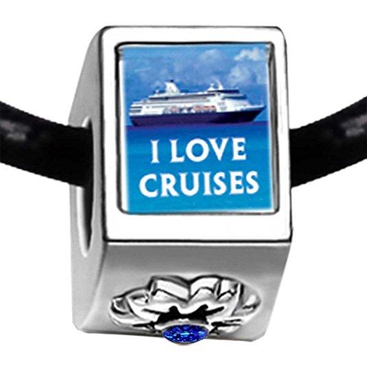 Pandora I Love Cruises Photo Charm