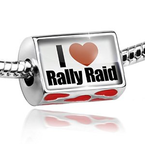 Pandora I Love Rally Cross Charm