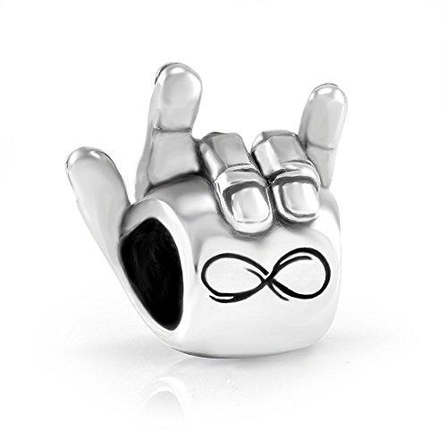 Pandora I Love You Hand Sign Charm