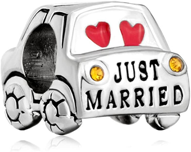 Pandora Just Married Car Charm